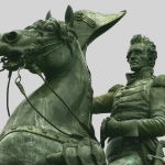 Andrew Jackson, the 7th U.S. President, in Lafayette Square