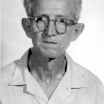 Clarence Earl Gideon, of Gideon v. Wainwright, circa 1963