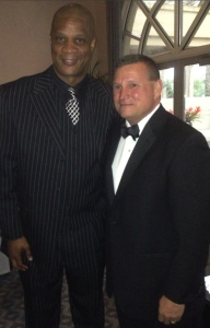 Kelly Landers with Darryl Strawberry at the 6th Annual Gratitude House Gala, March 29, 2014.