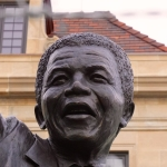 Nelson Mandela Statue at the South African Embassy.