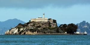 Alcatraz Island, San Francisco Bay.