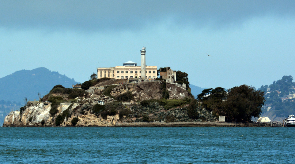 Alcatraz Island, San Francisco Bay.