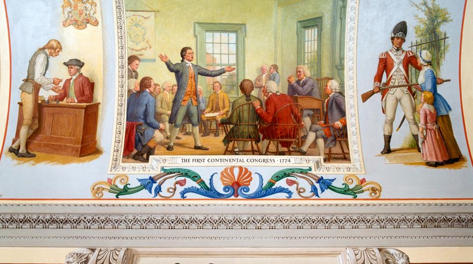 First Continental Congress 1774
