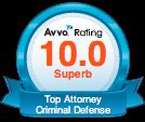 Avvo 10.0 Rating