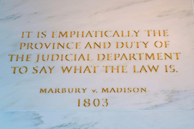 Marbury v. Madison 1803