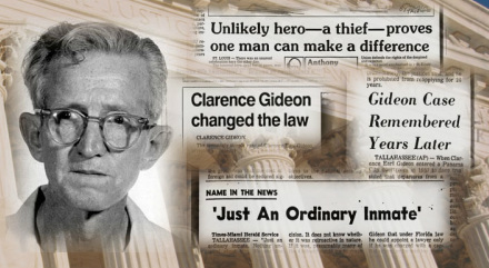 clarence earl gideons influence in the law system Gideon's trumpet has  of a law clerk and how the judicial system  to dig out my copy of gideon's trumpet and reread it clarence earl gideon was.