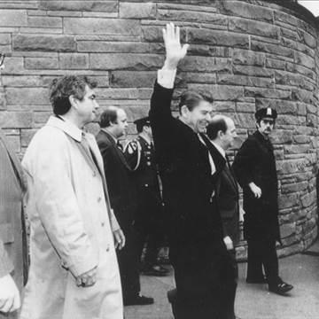 President Reagan Shot in 1981