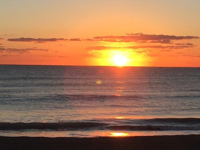 Easter Sunrise in Palm Beach, Fla