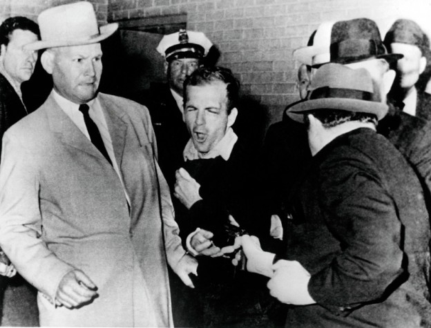 Lee Harvey Oswald killed by Jack Ruby