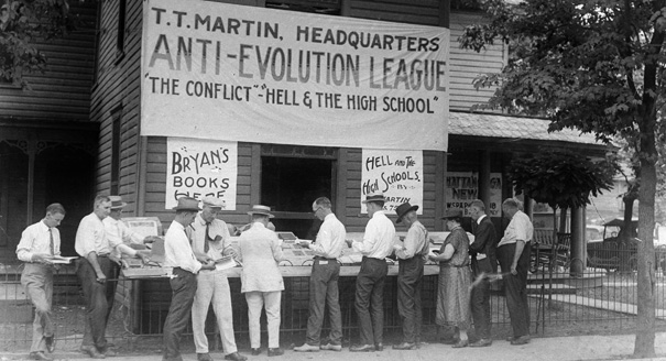 John Scopes Convicted of Teaching Evolution
