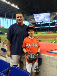 Kelly & Liam at Marlins Park